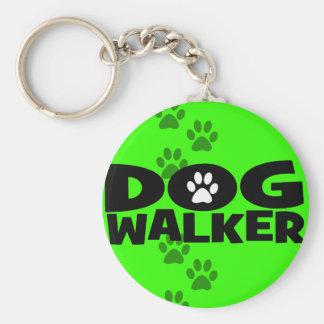 Dog Walking and Dog Walker promotion! Basic Round Button Keychain
