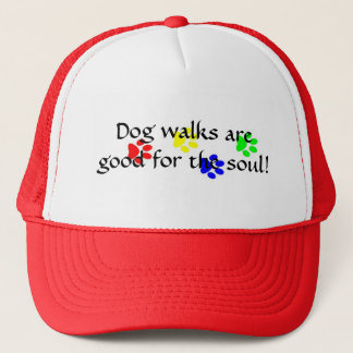 Dog walks are good for the soul! hat