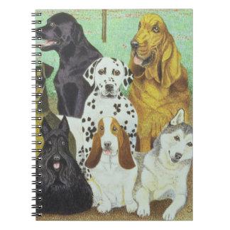 Dog Watch Spiral Notebook