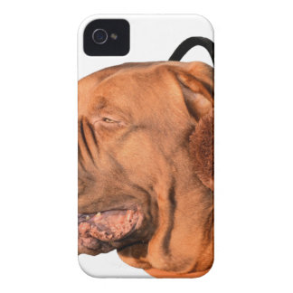 Dog Wearing Ear Muffs Case-Mate iPhone 4 Case