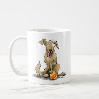 Dog With a Ball Coffee Mug