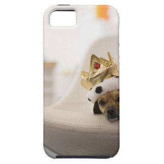 Dog with a crown iPhone 5 covers