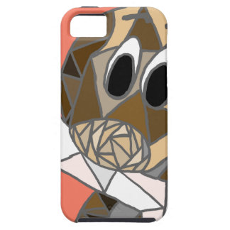 dog with bone iPhone 5 cover