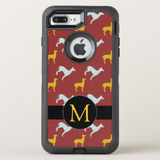 Dog Year 2018 Zodiac Birthday Monogram iPhone
