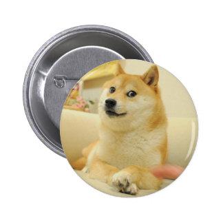 Doge 2 Inch Round Button
