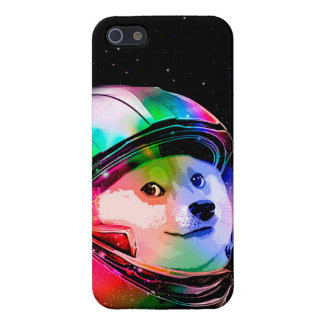 Doge astronaut-colorful dog - doge-shibe-doge dog cover for iPhone 5/5S