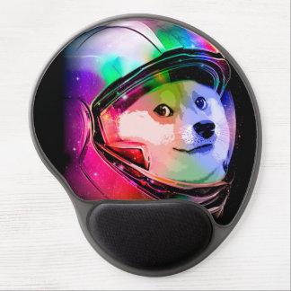 Doge astronaut-colorful dog - doge-shibe-doge dog gel mouse pad