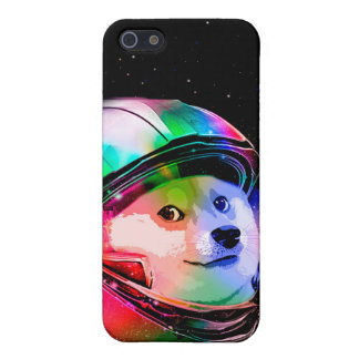 Doge astronaut-colorful dog - doge-shibe-doge dog iPhone 5 covers