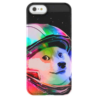 Doge astronaut-colorful dog - doge-shibe-doge dog permafrost® iPhone SE/5/5s case