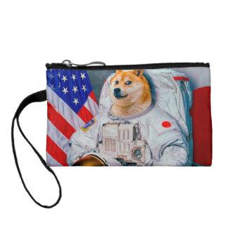 Doge astronaut-doge-shibe-doge dog-cute doge coin purse