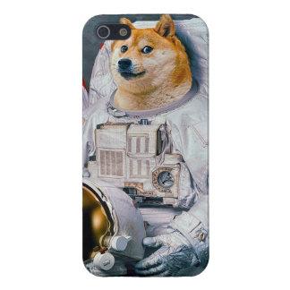 Doge astronaut-doge-shibe-doge dog-cute doge iPhone 5 cover