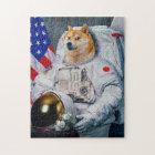 Doge astronaut-doge-shibe-doge dog-cute doge jigsaw puzzle