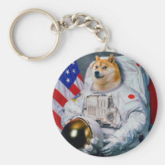 Doge astronaut-doge-shibe-doge dog-cute doge keychain