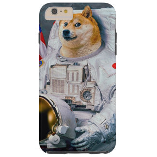 Doge astronaut-doge-shibe-doge dog-cute doge tough iPhone 6 plus case