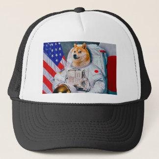 Doge astronaut-doge-shibe-doge dog-cute doge trucker hat