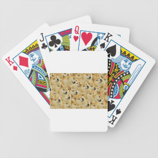 Doge Bicycle Playing Cards