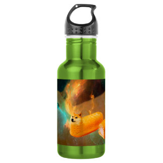 Doge bread - doge-shibe-doge dog-cute doge 532 ml water bottle