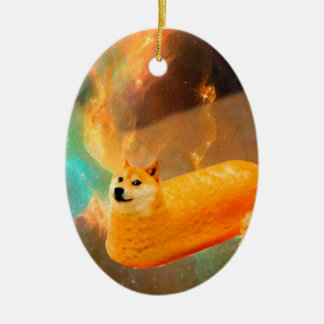 Doge bread - doge-shibe-doge dog-cute doge ceramic ornament