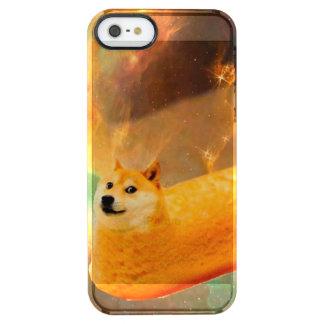 Doge bread - doge-shibe-doge dog-cute doge clear iPhone SE/5/5s case