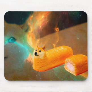 Doge bread - doge-shibe-doge dog-cute doge mouse pad