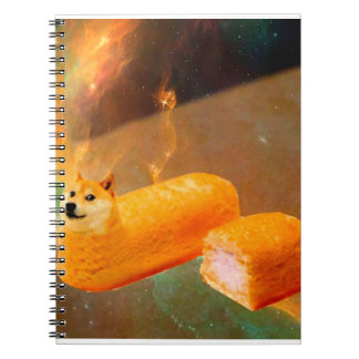 Doge bread - doge-shibe-doge dog-cute doge spiral notebook