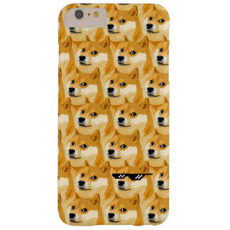 Doge cartoon - doge texture - shibe - doge barely there iPhone 6 plus case
