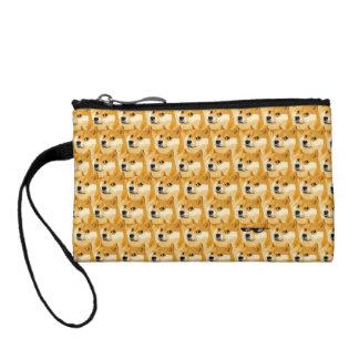 Doge cartoon - doge texture - shibe - doge coin purse