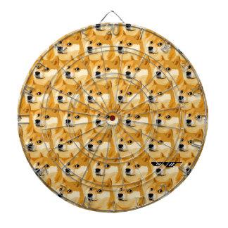 Doge cartoon - doge texture - shibe - doge dartboard