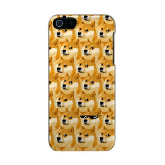 Doge cartoon - doge texture - shibe - doge incipio feather® shine iPhone 5 case