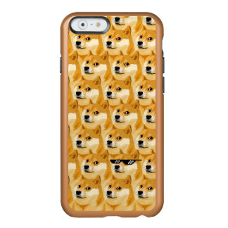 Doge cartoon - doge texture - shibe - doge incipio feather® shine iPhone 6 case