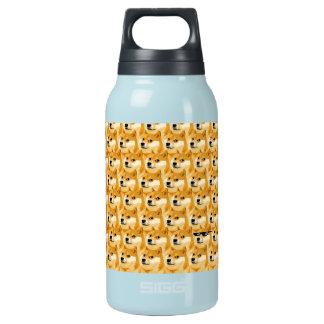 Doge cartoon - doge texture - shibe - doge insulated water bottle