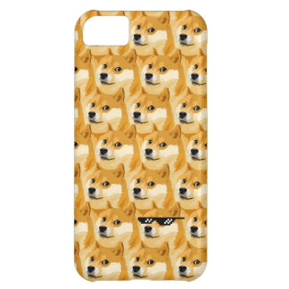 Doge cartoon - doge texture - shibe - doge iPhone 5C case