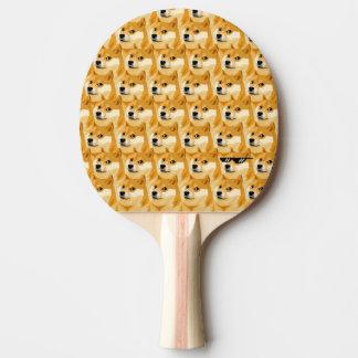 Doge cartoon - doge texture - shibe - doge ping pong paddle
