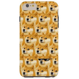 Doge cartoon - doge texture - shibe - doge tough iPhone 6 plus case