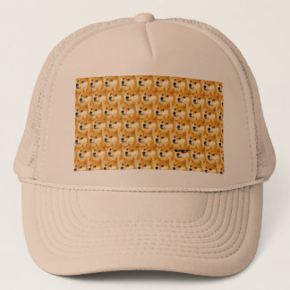 Doge cartoon - doge texture - shibe - doge trucker hat