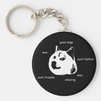 Doge Key Chain