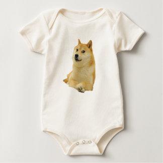 doge meme - doge-shibe-doge dog-cute doge baby bodysuit