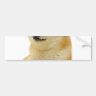 doge meme - doge-shibe-doge dog-cute doge bumper sticker
