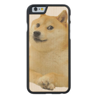 doge meme - doge-shibe-doge dog-cute doge carved maple iPhone 6 case