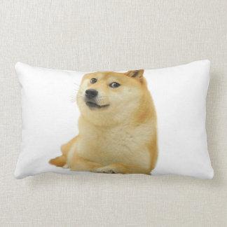 doge meme - doge-shibe-doge dog-cute doge lumbar pillow