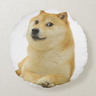 doge meme - doge-shibe-doge dog-cute doge round pillow