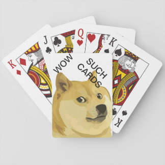 Doge Playing Cards