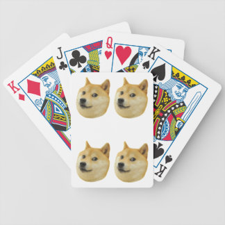 Doge Playing Cards —Four of a Kind!