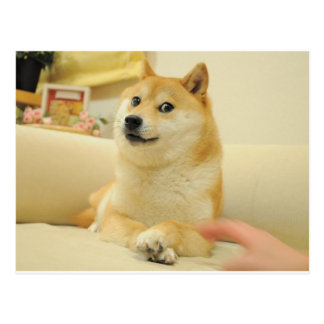 Doge Postcards