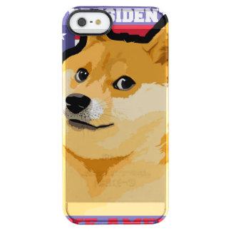 Doge president - doge-shibe-doge dog-cute doge clear iPhone SE/5/5s case