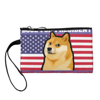 Doge president - doge-shibe-doge dog-cute doge coin purse