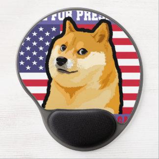 Doge president - doge-shibe-doge dog-cute doge gel mouse pad