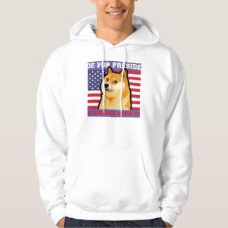 Doge president - doge-shibe-doge dog-cute doge hoodie