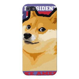 Doge president - doge-shibe-doge dog-cute doge iPhone 5/5S case