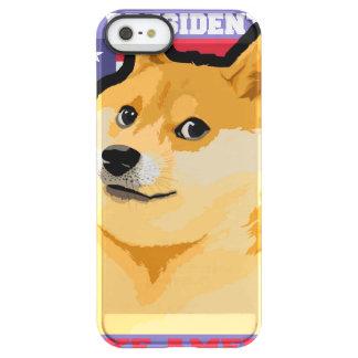 Doge president - doge-shibe-doge dog-cute doge permafrost® iPhone SE/5/5s case